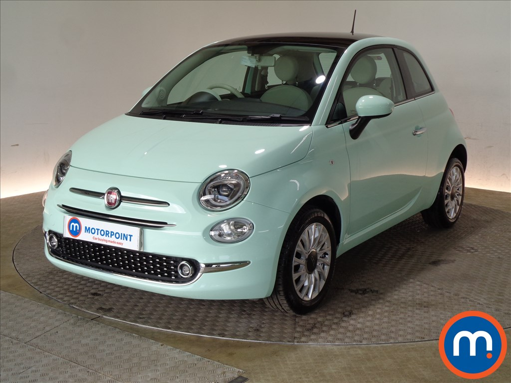 Fiat 500 Lounge - Stock Number 1085485 Passenger side front corner