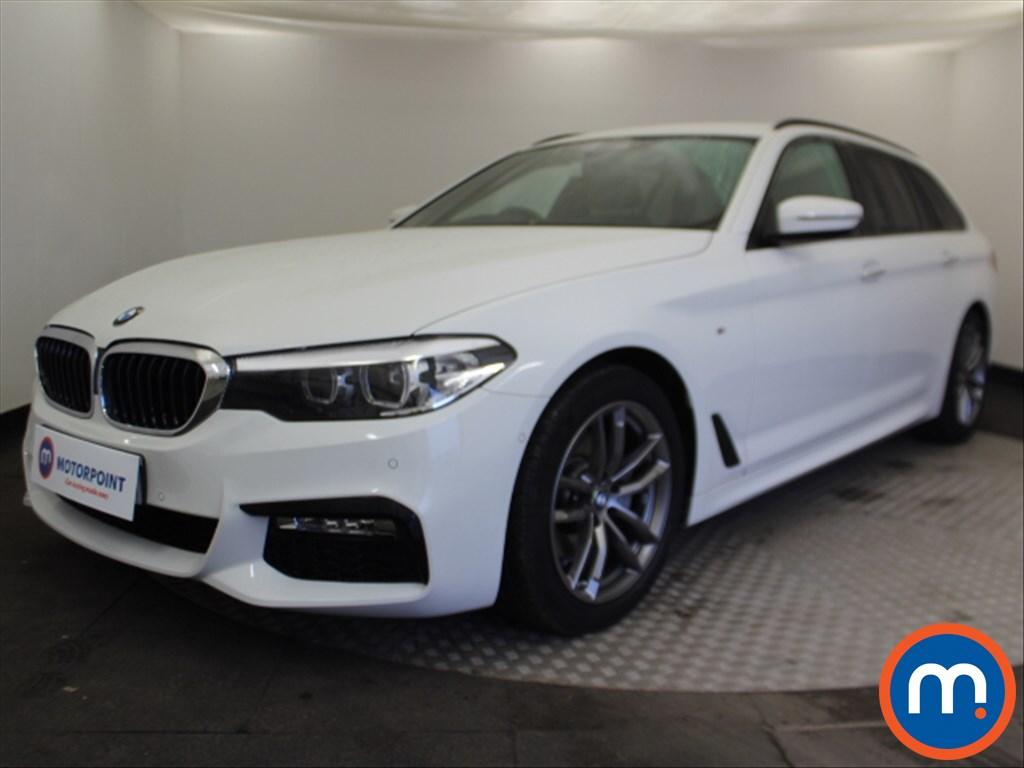 BMW 5 Series M Sport - Stock Number 1088878 Passenger side front corner