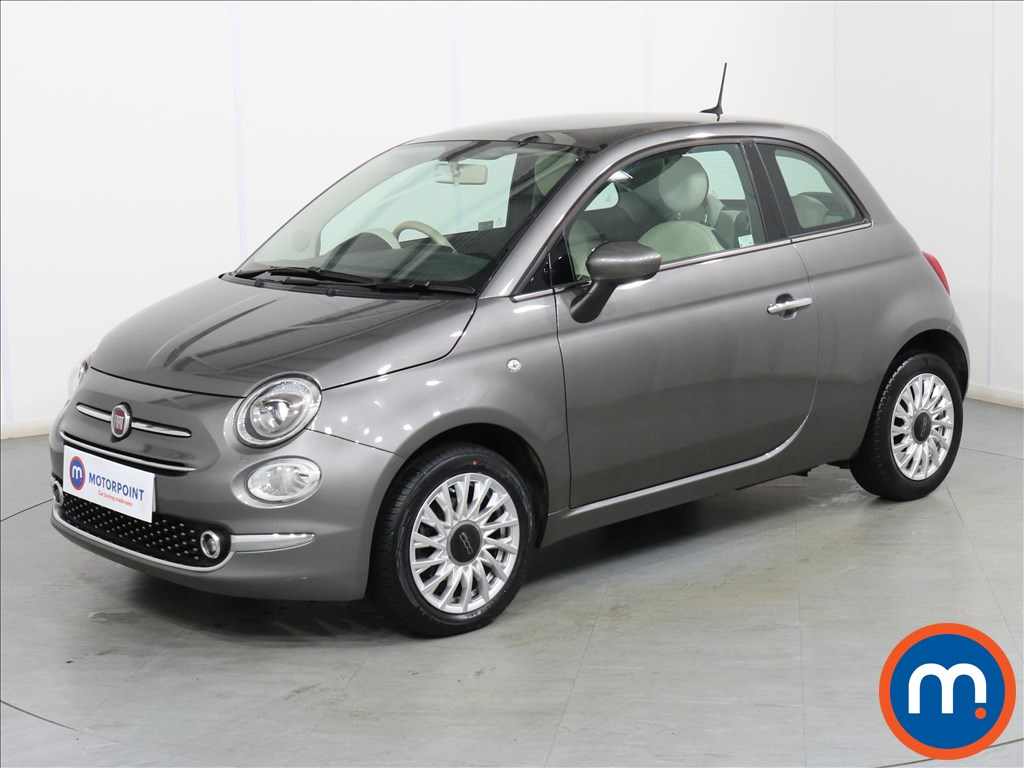 Fiat 500 Lounge - Stock Number 1087016 Passenger side front corner
