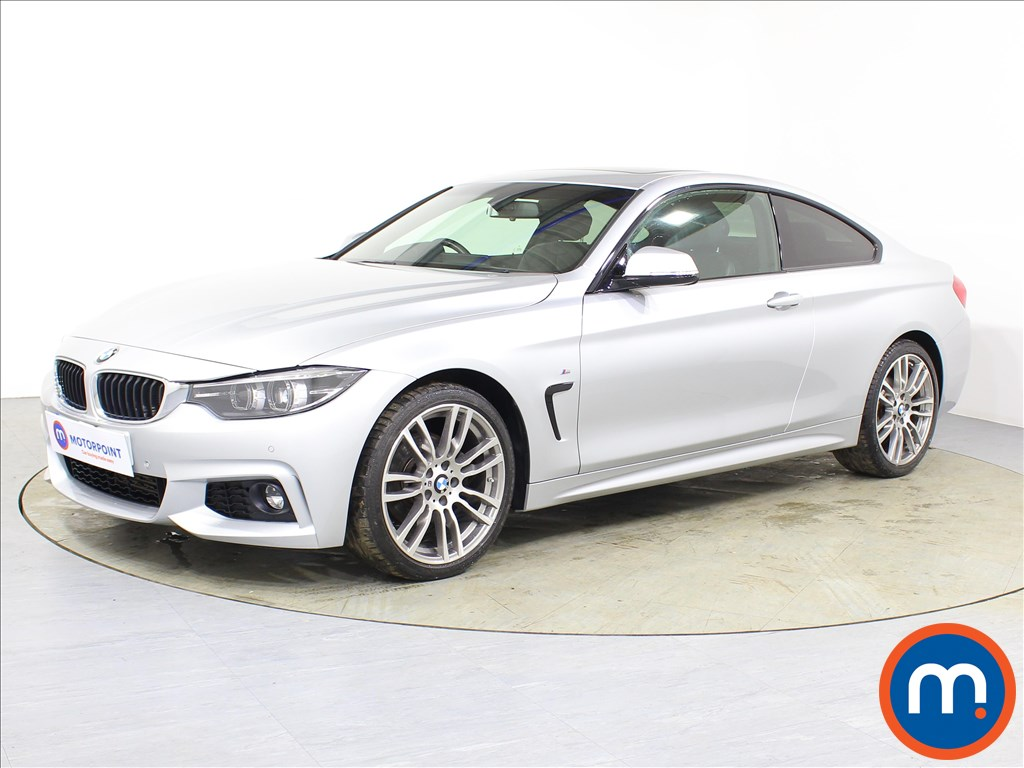 BMW 4 Series M Sport - Stock Number 1083335 Passenger side front corner