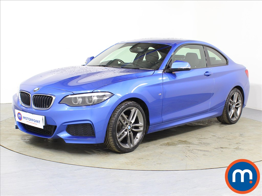 BMW 2 Series M Sport - Stock Number 1086396 Passenger side front corner