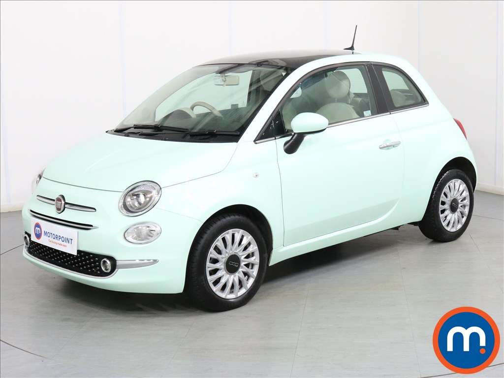 Fiat 500 Lounge - Stock Number 1087044 Passenger side front corner