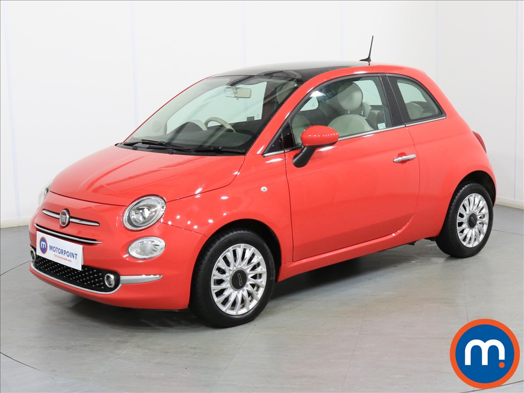 Fiat 500 Lounge - Stock Number 1087048 Passenger side front corner