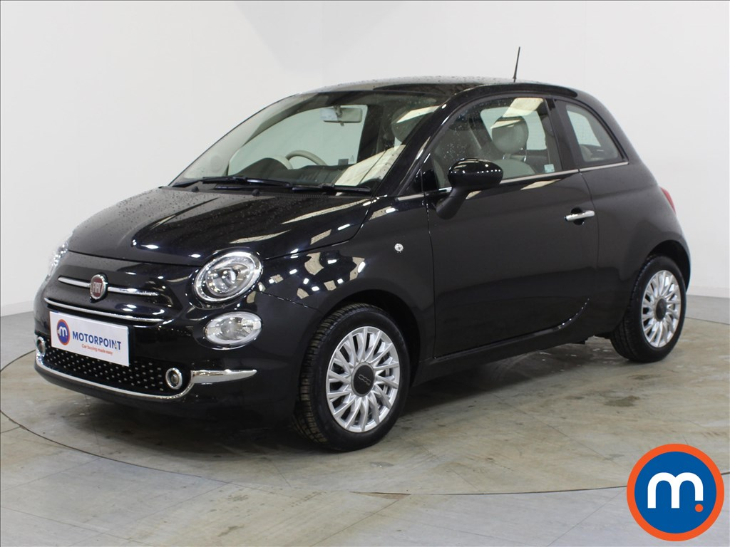 Fiat 500 Lounge - Stock Number 1085515 Passenger side front corner