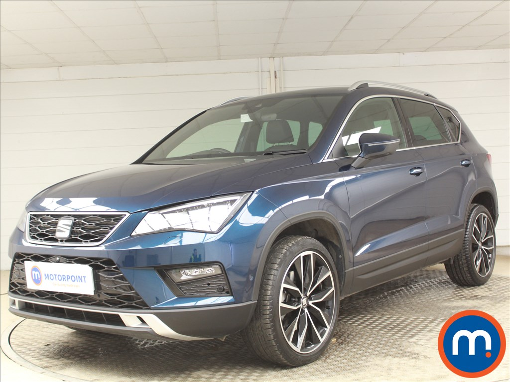 Seat Ateca Xcellence Lux - Stock Number 1088711 Passenger side front corner