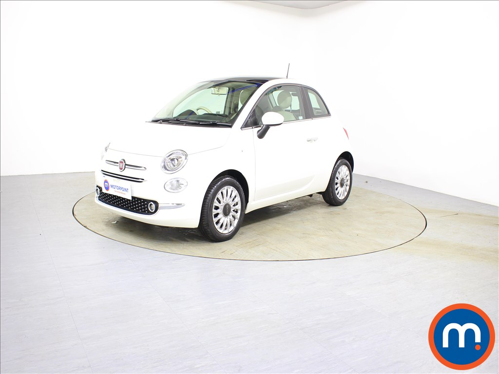 Fiat 500 Lounge - Stock Number 1087006 Passenger side front corner