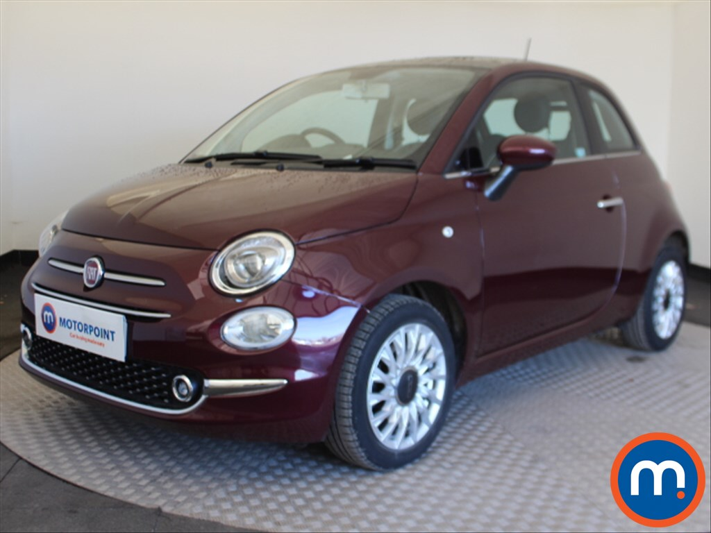 Fiat 500 Lounge - Stock Number 1087004 Passenger side front corner