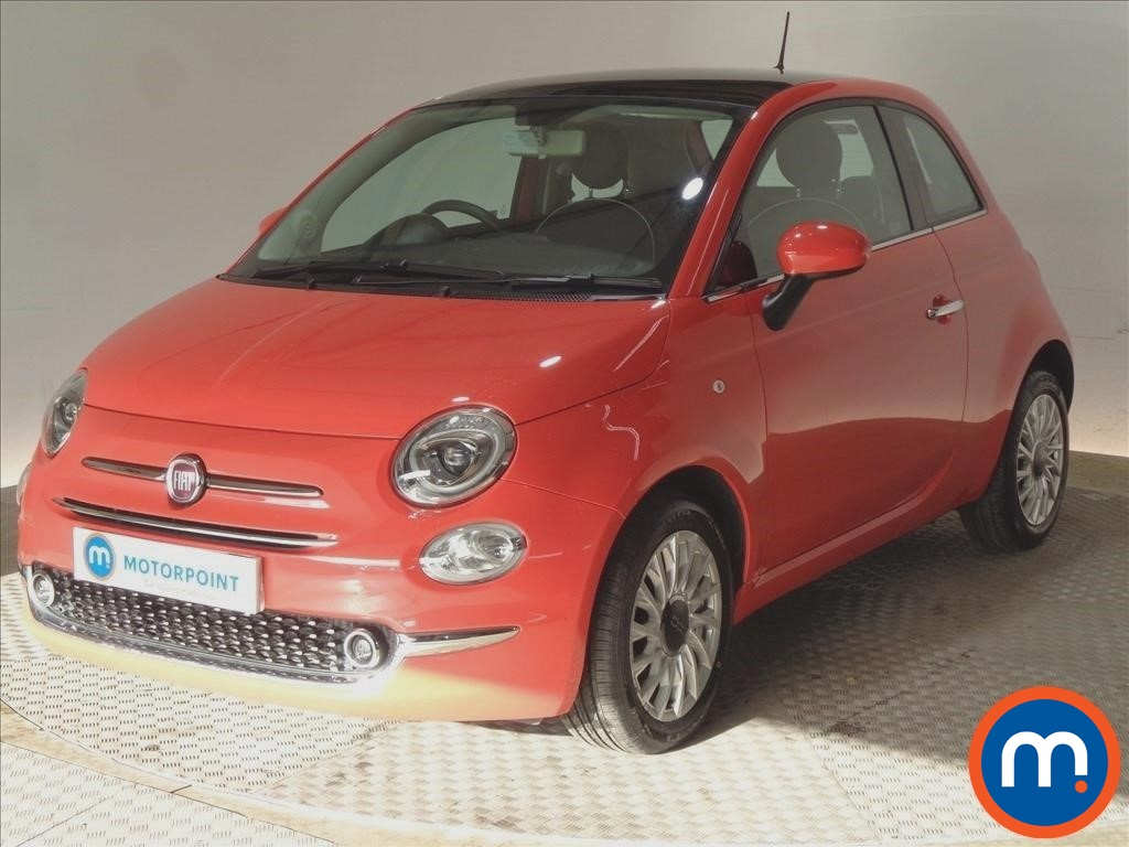 Fiat 500 Lounge - Stock Number 1087146 Passenger side front corner