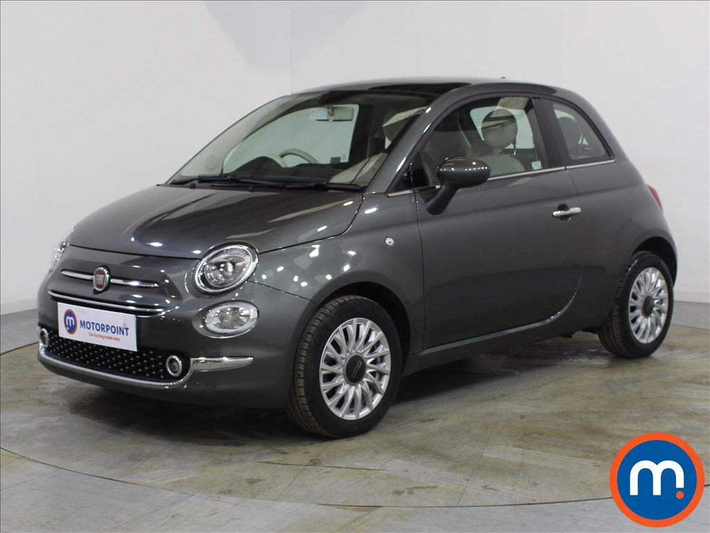 Fiat 500 Lounge - Stock Number 1086548 Passenger side front corner
