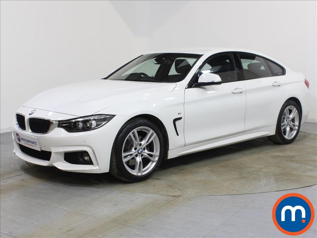 BMW 4 Series M Sport - Stock Number 1087655 Passenger side front corner