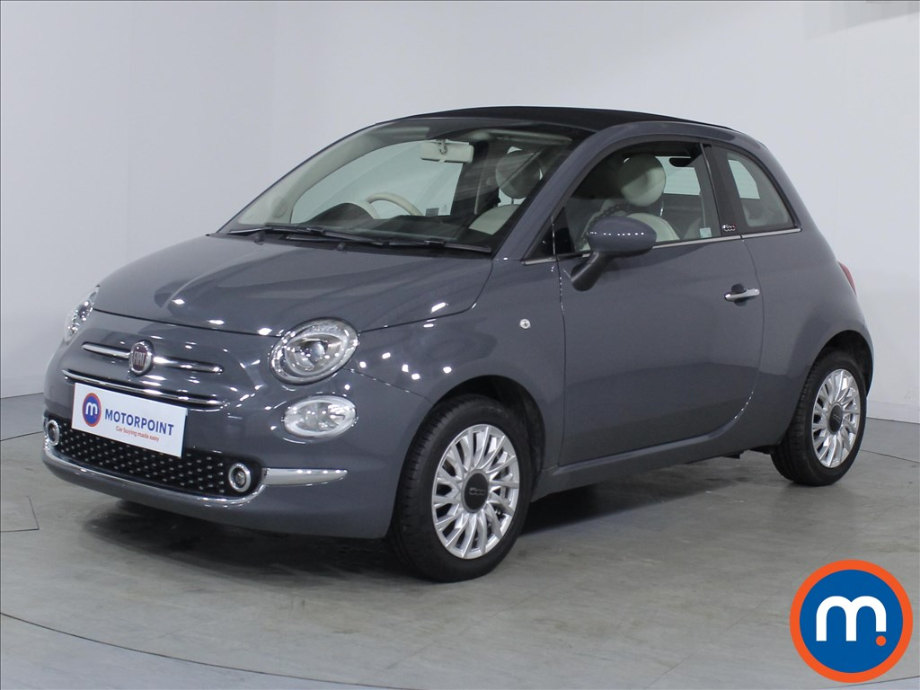Fiat 500 Lounge - Stock Number 1083209 Passenger side front corner