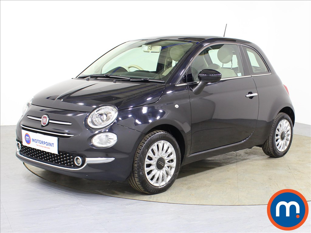 Fiat 500 Lounge - Stock Number 1087448 Passenger side front corner