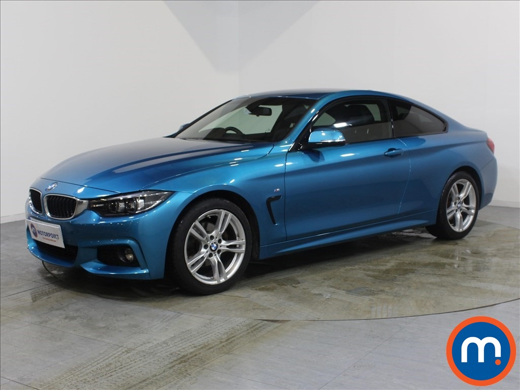 BMW 4 Series M Sport - Stock Number 1089018 Passenger side front corner