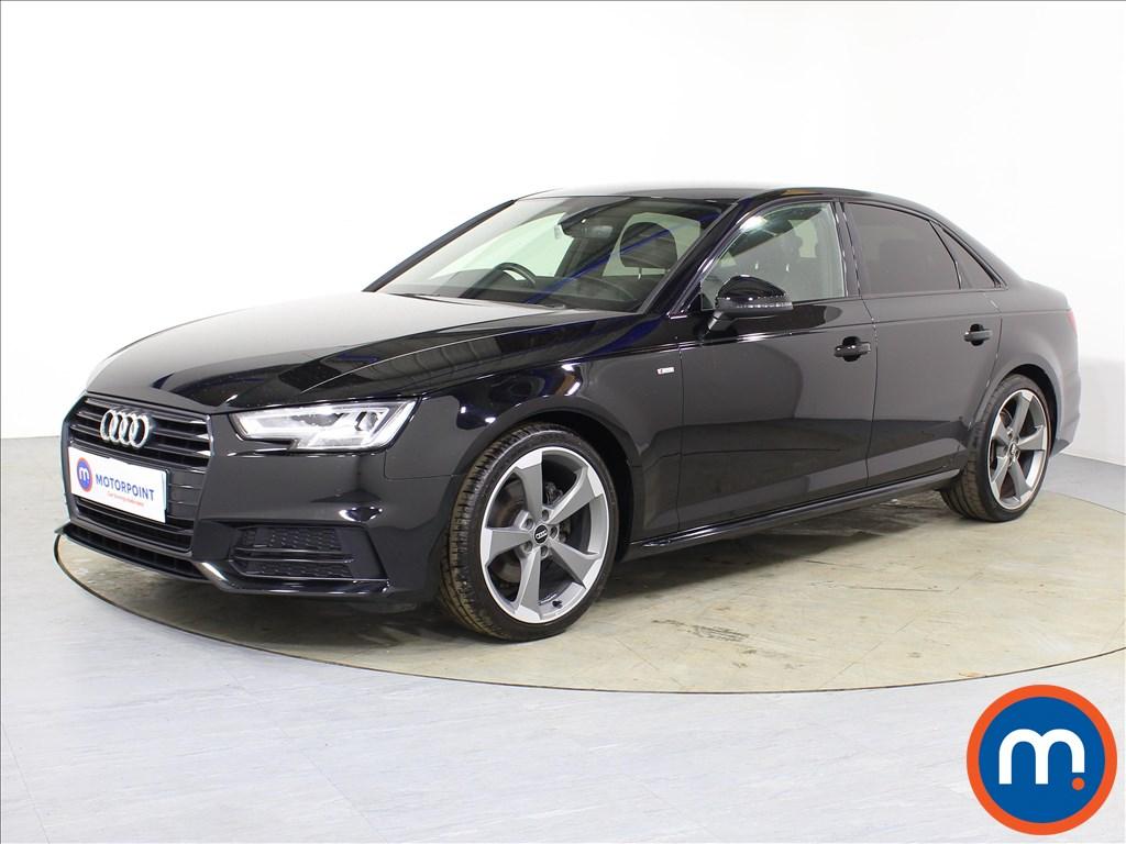 Audi A4 Black Edition - Stock Number 1085967 Passenger side front corner