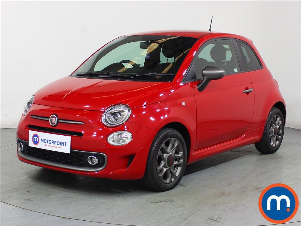 Fiat 500 S - Stock Number 1067115 Passenger side front corner