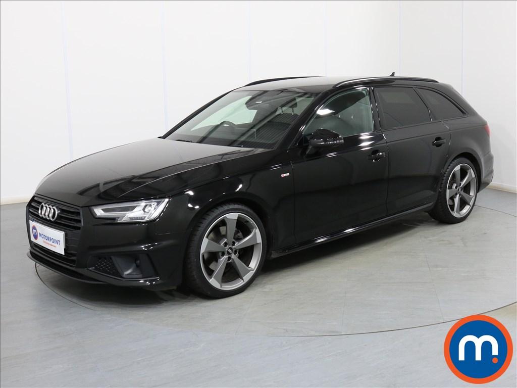 Audi A4 Black Edition - Stock Number 1088940 Passenger side front corner