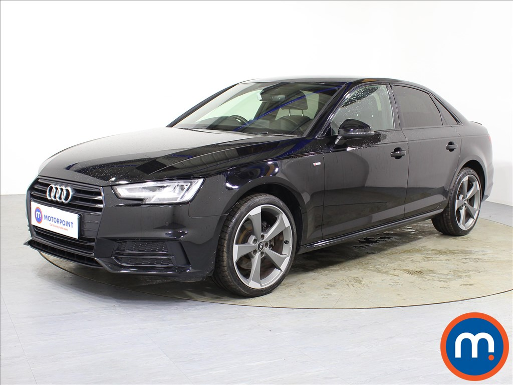 Audi A4 Black Edition - Stock Number 1088226 Passenger side front corner