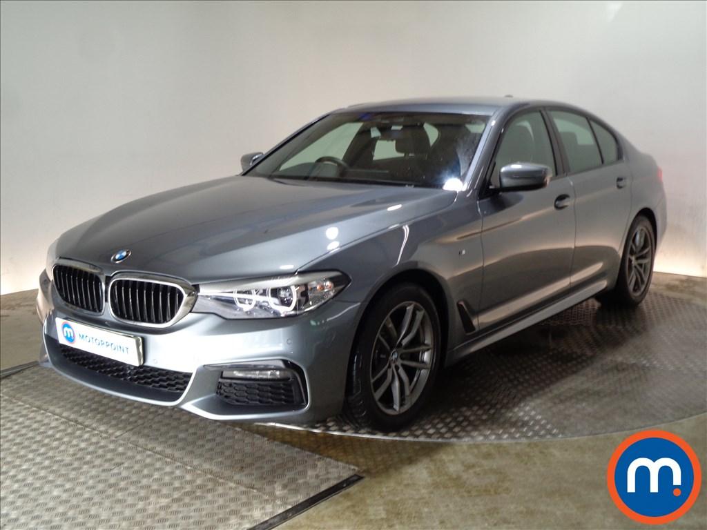 BMW 5 Series M Sport - Stock Number 1083994 Passenger side front corner