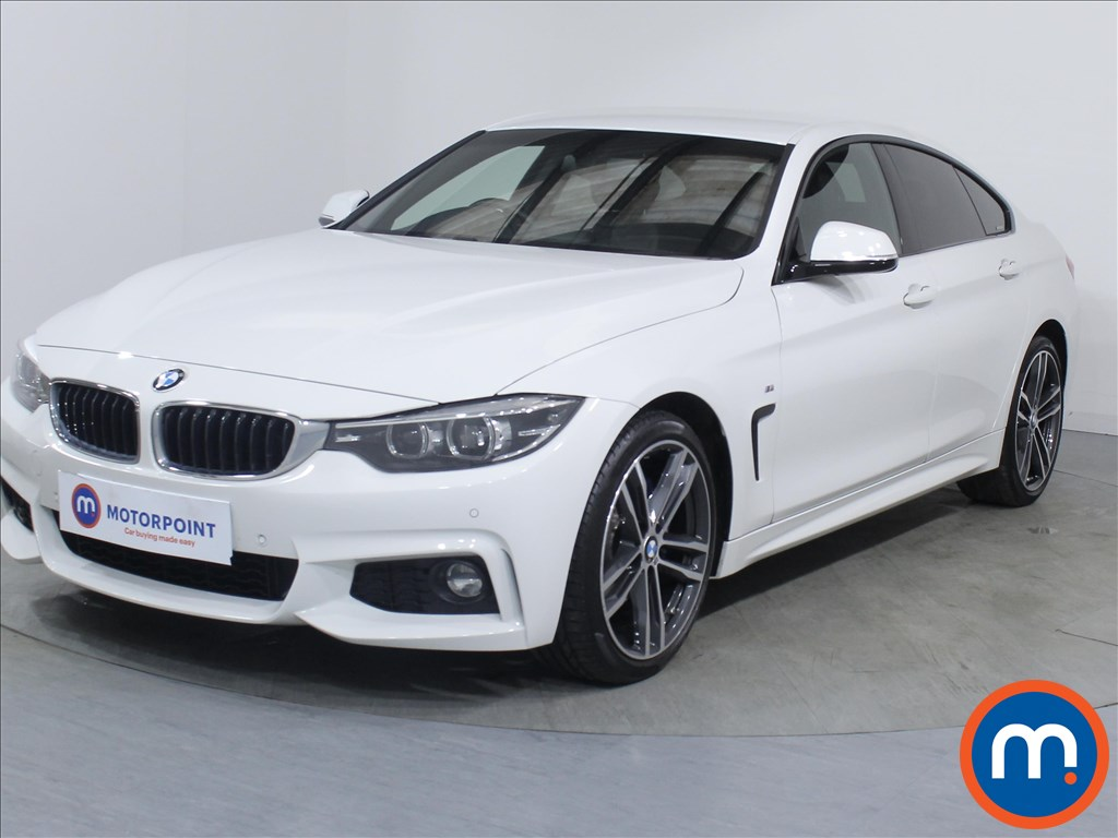 BMW 4 Series M Sport - Stock Number 1087113 Passenger side front corner