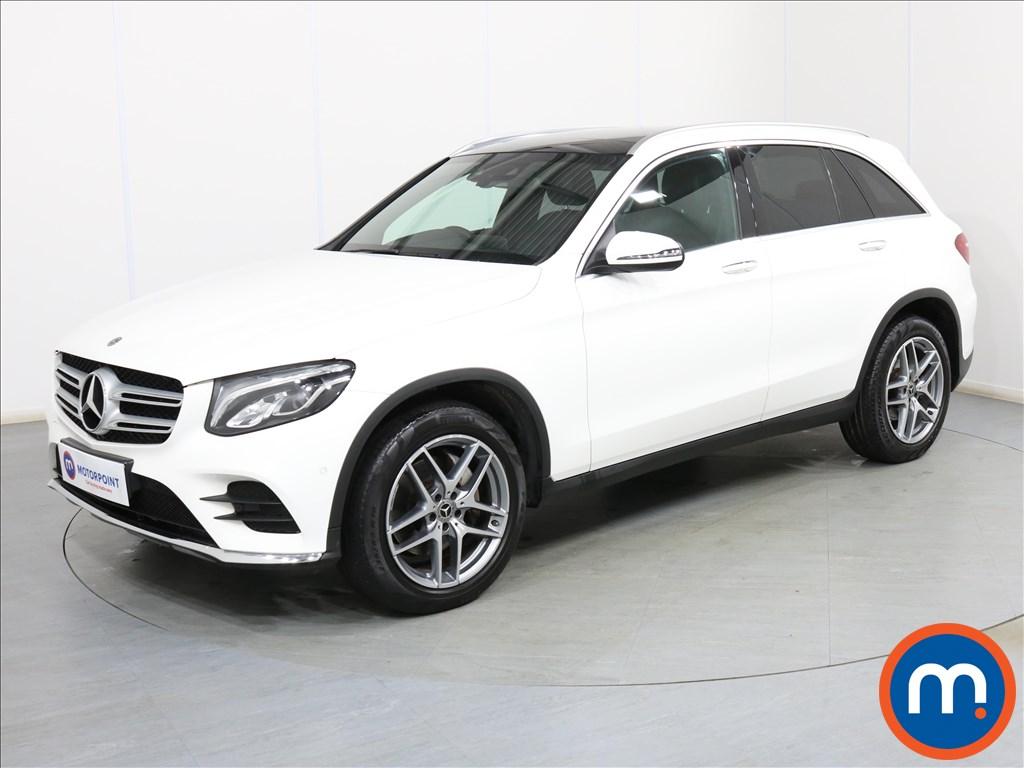 Mercedes-Benz GLC AMG Line - Stock Number 1089334 Passenger side front corner