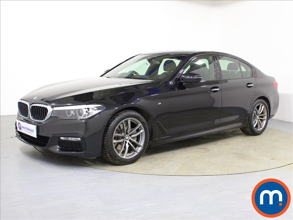 BMW 5 Series M Sport - Stock Number 1088349 Passenger side front corner