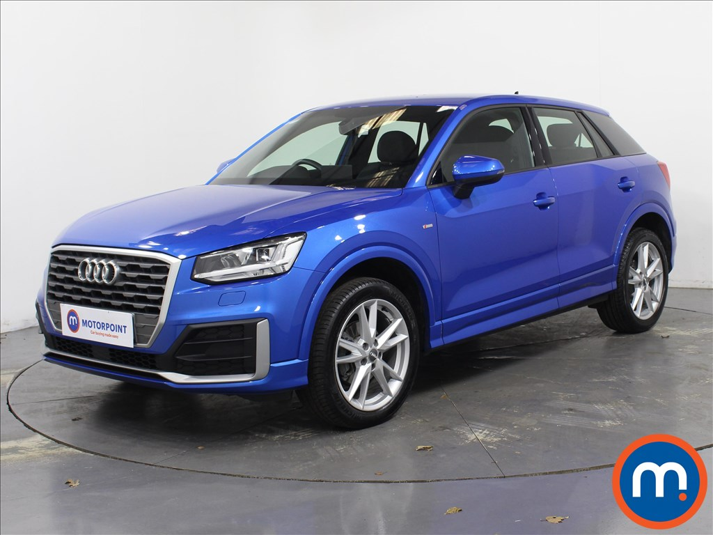 Audi Q2 S Line - Stock Number 1087182 Passenger side front corner