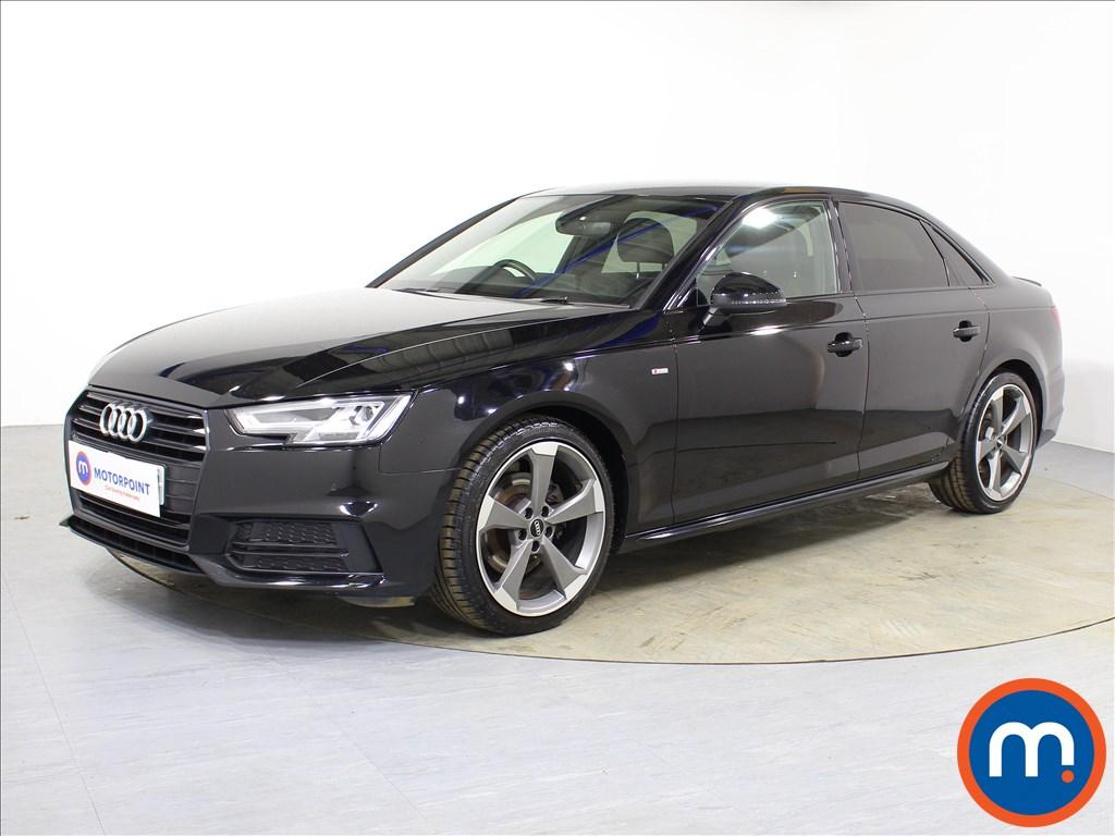 Audi A4 Black Edition - Stock Number 1088164 Passenger side front corner
