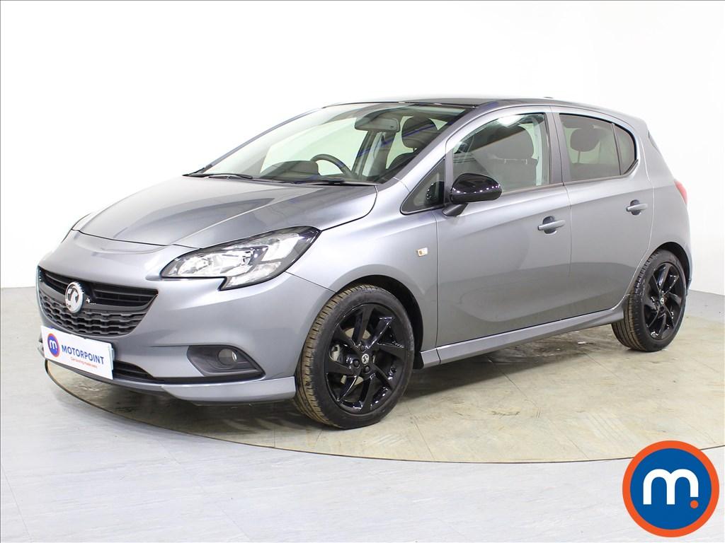 Vauxhall Corsa SRi Vx-line Nav Black - Stock Number 1085262 Passenger side front corner