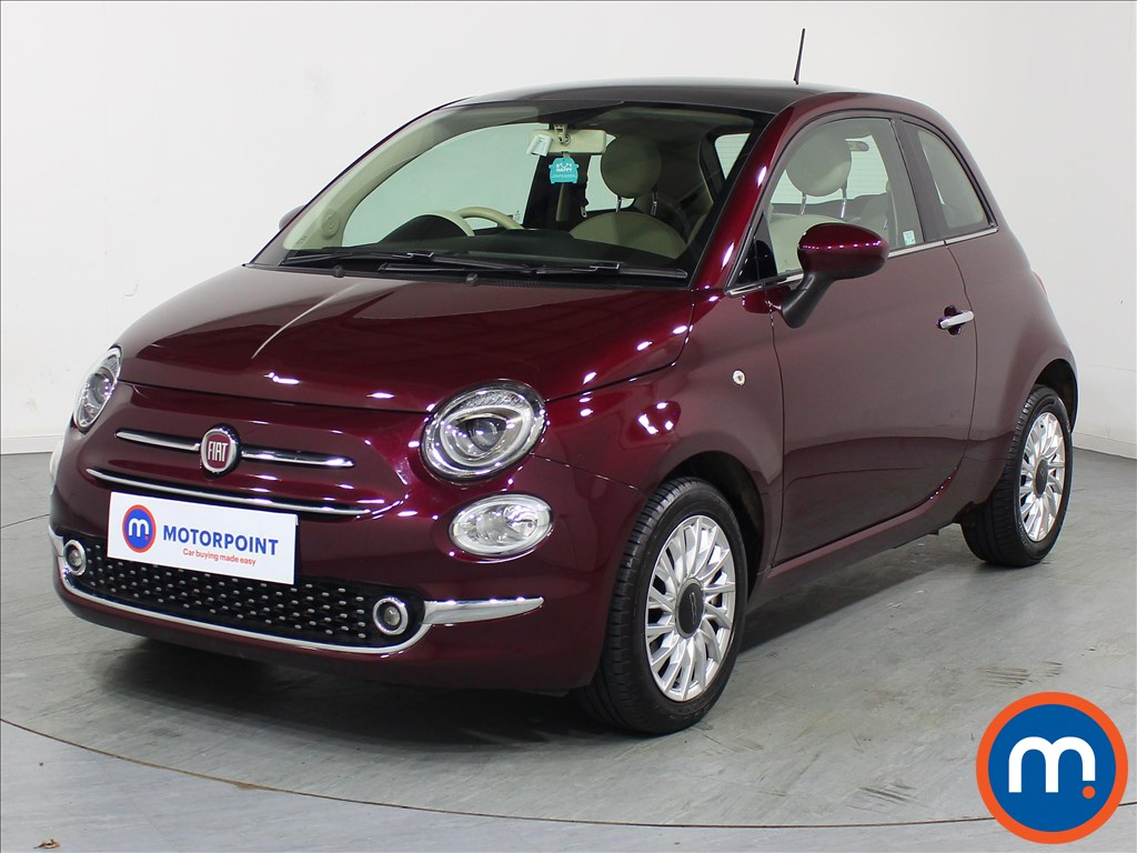 Fiat 500 Lounge - Stock Number 1082919 Passenger side front corner