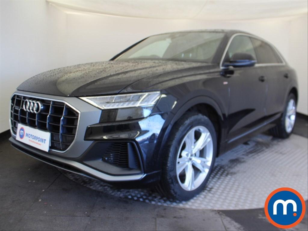 Audi Q8 S Line - Stock Number 1087641 Passenger side front corner
