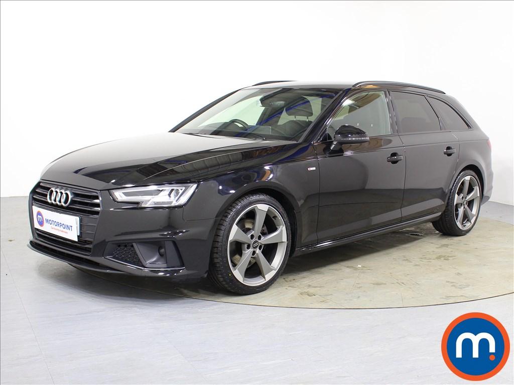 Audi A4 Black Edition - Stock Number 1088942 Passenger side front corner