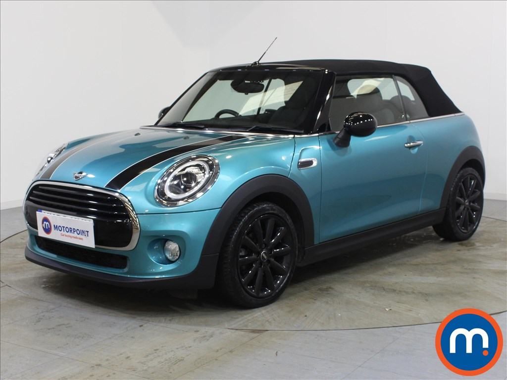 Mini Convertible Cooper - Stock Number 1089849 Passenger side front corner