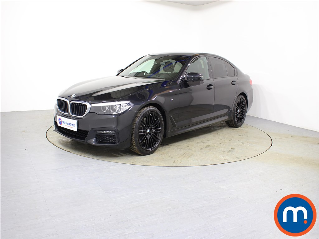 BMW 5 Series M Sport - Stock Number 1090888 Passenger side front corner