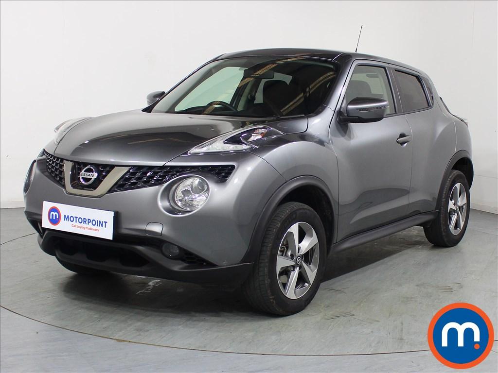 Nissan Juke Acenta - Stock Number 1085721 Passenger side front corner