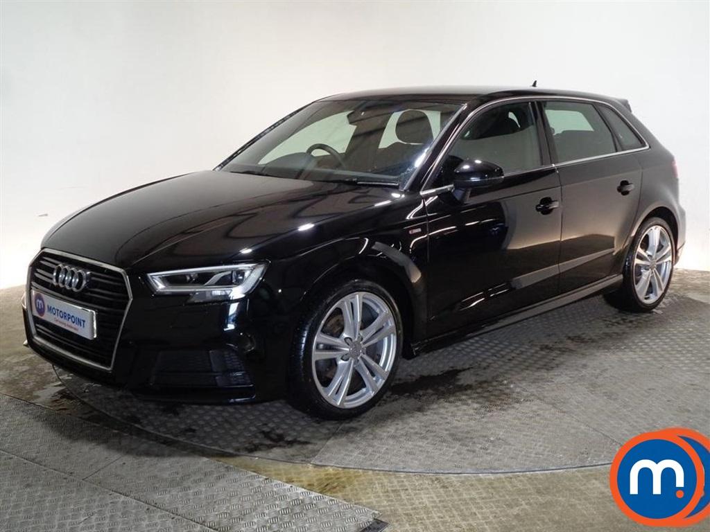 Audi A3 S Line - Stock Number 1087122 Passenger side front corner