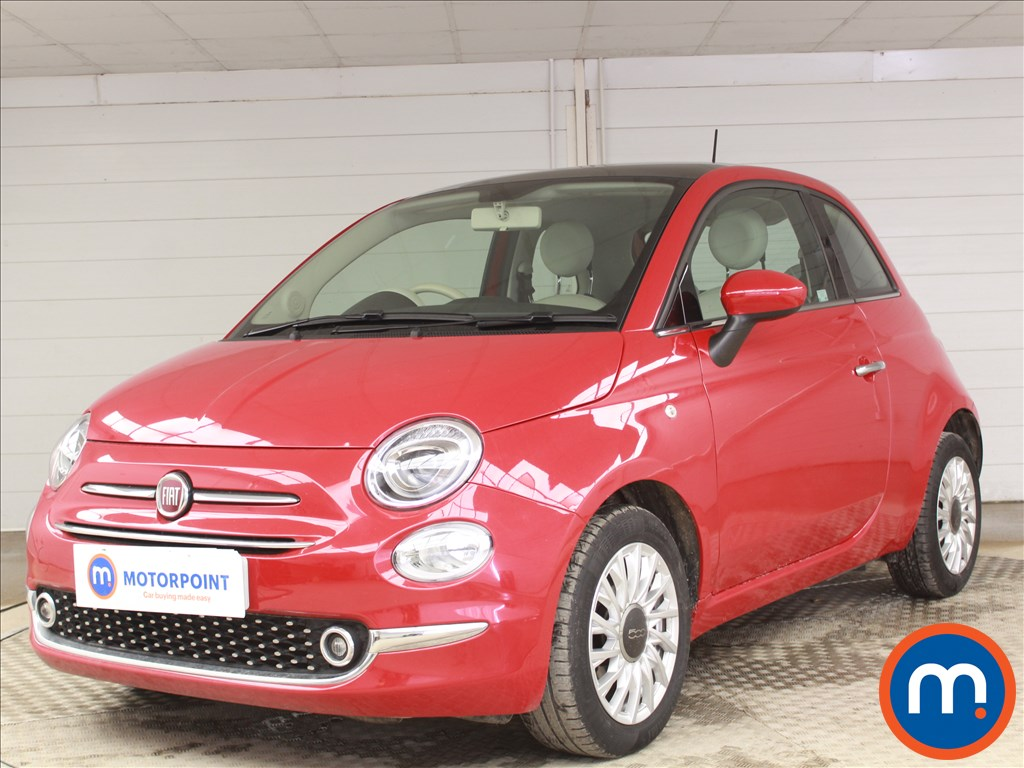 Fiat 500 Lounge - Stock Number 1087063 Passenger side front corner