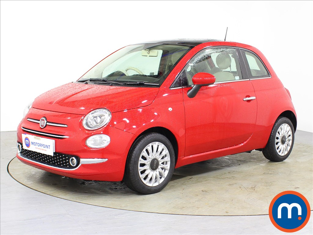 Fiat 500 Lounge - Stock Number 1082980 Passenger side front corner