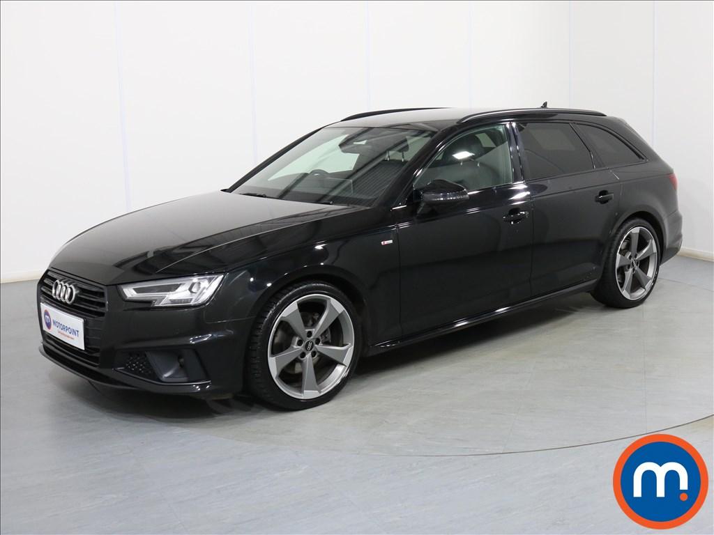 Audi A4 Black Edition - Stock Number 1088169 Passenger side front corner