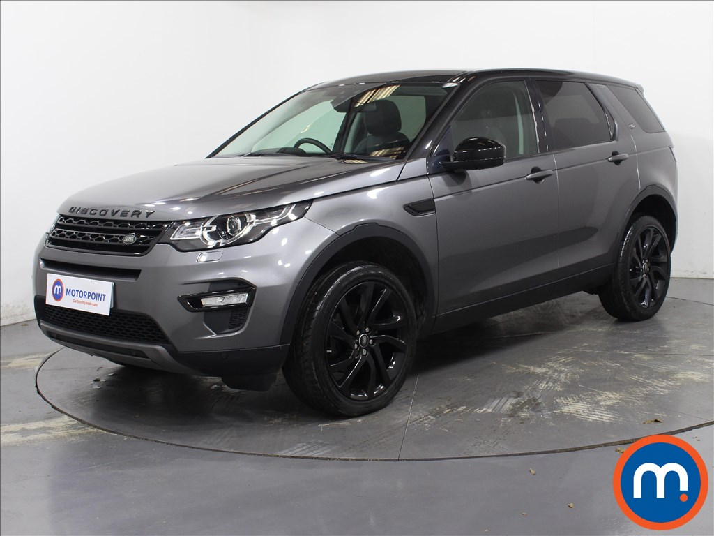 Land Rover Discovery Sport HSE Black - Stock Number 1089458 Passenger side front corner