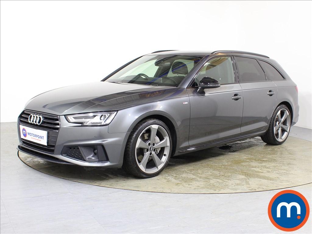 Audi A4 Black Edition - Stock Number 1087425 Passenger side front corner