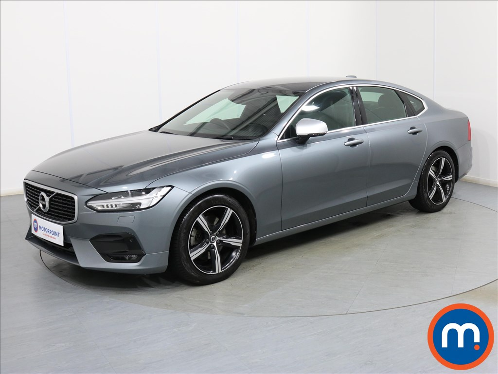 Volvo S90 R DESIGN - Stock Number 1088966 Passenger side front corner