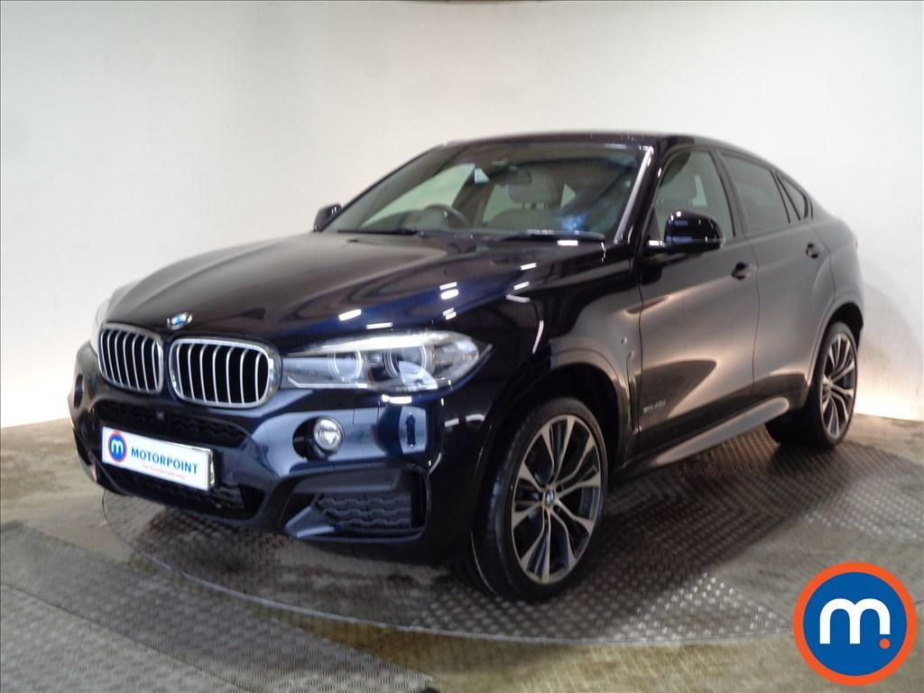BMW X6 M Sport - Stock Number 1086096 Passenger side front corner