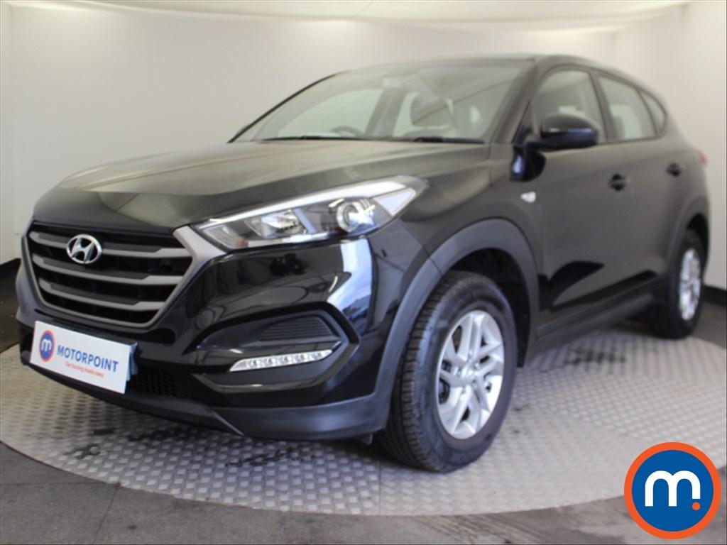 Hyundai Tucson S - Stock Number 1084952 Passenger side front corner
