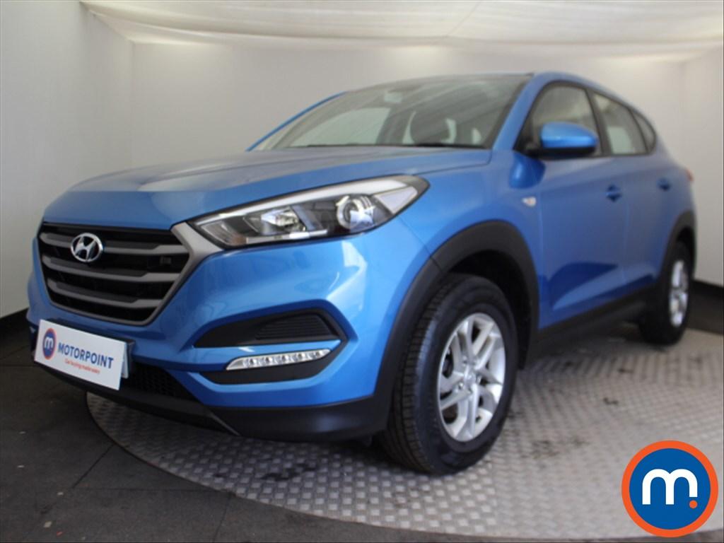 Hyundai Tucson S - Stock Number 1085169 Passenger side front corner