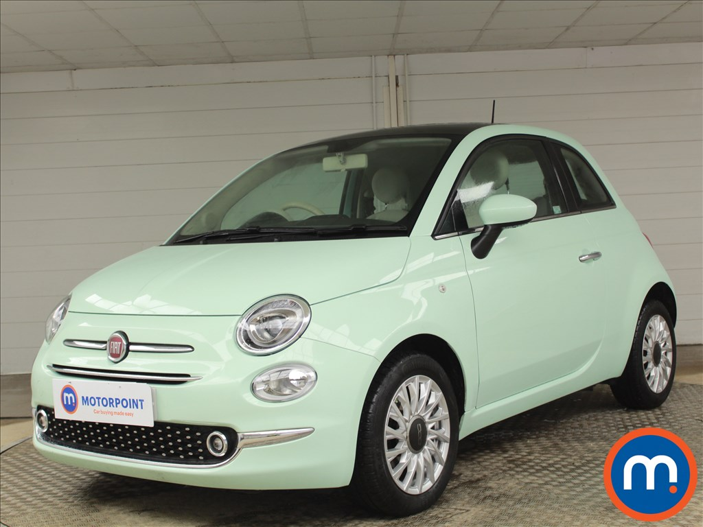 Fiat 500 Lounge - Stock Number 1083083 Passenger side front corner