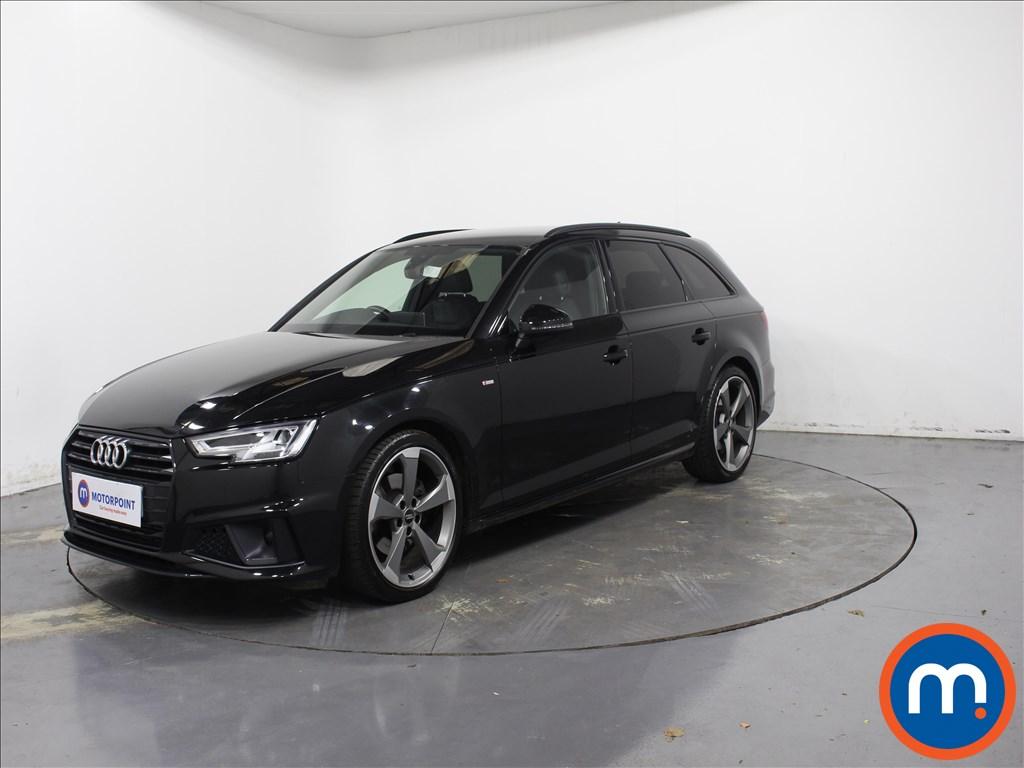 Audi A4 Black Edition - Stock Number 1088943 Passenger side front corner