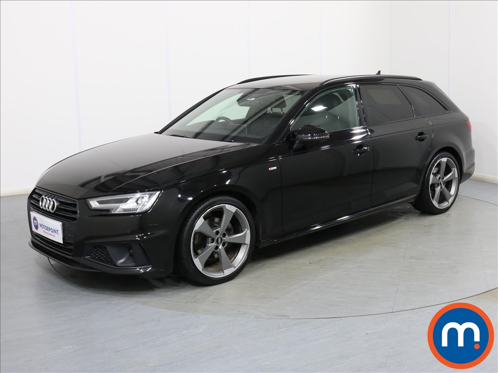 Audi A4 Black Edition - Stock Number 1089364 Passenger side front corner