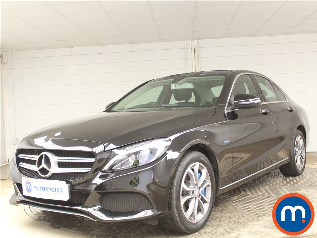 Mercedes-Benz C Class Sport - Stock Number 1089659 Passenger side front corner