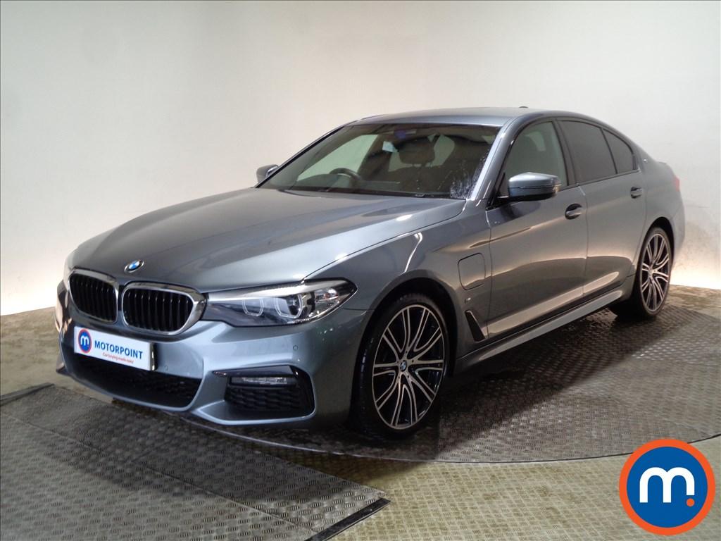 BMW 5 Series M Sport - Stock Number 1084437 Passenger side front corner