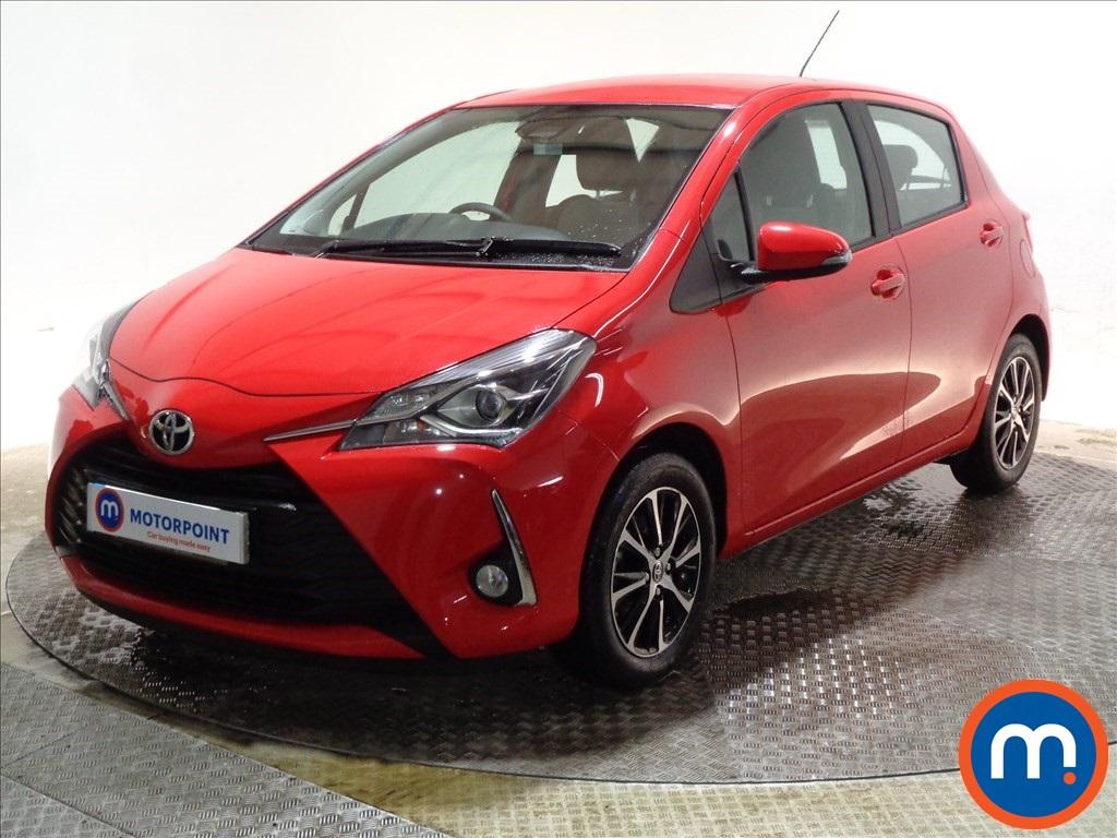 Toyota Yaris 1.5 VVT-i Icon Tech 5dr - Stock Number 1089925 Passenger side front corner